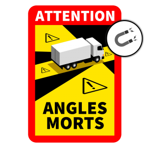 Autocollant Angles Morts (Magnétique)