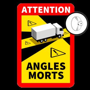 Autocollant Angles Morts (Ventouses)